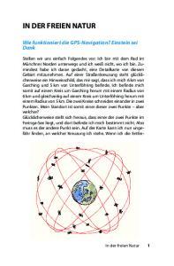 Wie funktioniert die GPS-Navigation? Einstein sei Dank