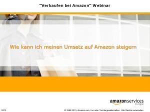 Wie kann ich meinen Umsatz auf Amazon steigern