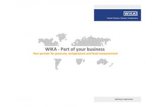 WIKA - Part of your business