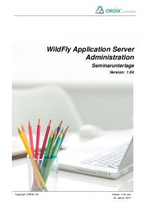 WildFly Application Server Administration