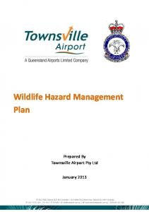 Wildlife Hazard Management Plan