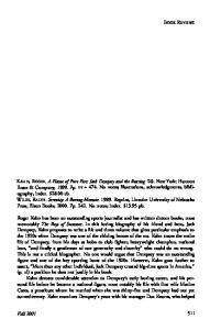 WILEY, RALPH. Serenity: A Boxing Memoir Reprint, Lincoln: University of Nebraska Press, Bison Books, Pp No notes; index. $13.95 pb