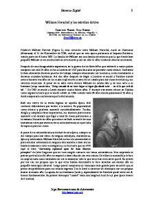 William Herschel y las estrellas dobles