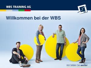 Willkommen bei der WBS