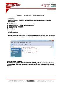 WINCC V6.0 SP4 KURULUM ve KULLANIM KILAVUZU