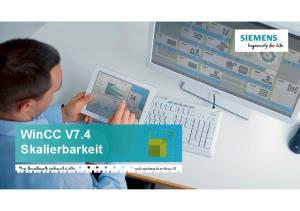 WinCC V7.4 Skalierbarkeit