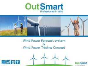 Wind Power Forecast system & Wind Power Trading Concept