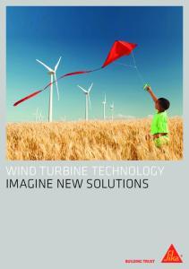 WIND TURBINE TECHNOLOGY IMAGINE NEW SOLUTIONS