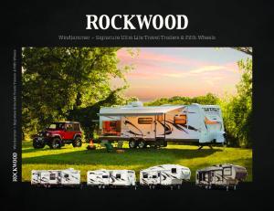 Windjammer Signature Ultra Lite Travel Trailers & Fifth Wheels