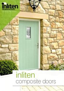 Windows & Doors. change your frame of mind... inliten. composite doors