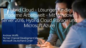 Windows Server 2016 Überblick