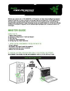 WINDOWS XP INSTALLATION INSTRUCTIONS