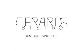 WINE AND DRINKS LIST