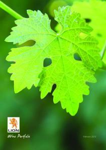 Wine Portfolio February 2013