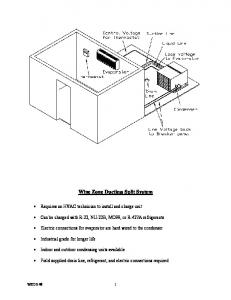 Wine Zone Ductless Split System