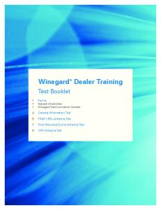 Winegard Dealer Training