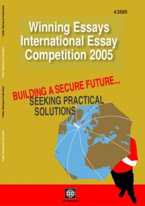 Winning Essays International Essay Competition 2005