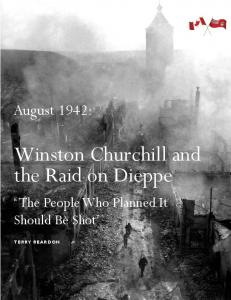 Winston Churchill and the Raid on Dieppe