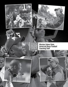 Winston-Salem State University Rams Football Coaching Staff