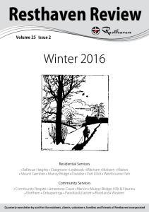 Winter Volume 25 Issue 2