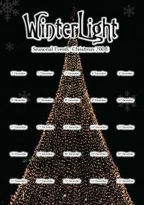 WinterLight. Seasonal Events: Christmas st December. 2 nd December. 3 rd December. 5 th December. 4 th December. 8 th December