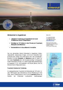 Wintershall in Argentinien