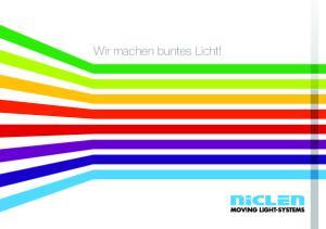 Wir machen buntes Licht!