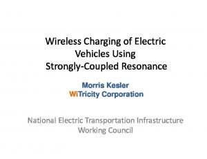 Wireless Charging of Electric Vehicles Using Strongly Coupled Resonance
