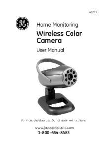 Wireless Color Camera