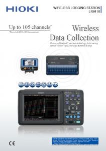 Wireless. Data Collection Featuring Bluetooth wireless technology, faster wiring of multichannel input, and easy distributed setup