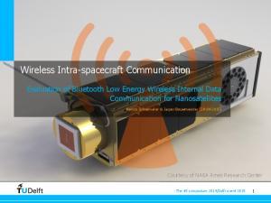 Wireless Intra-spacecraft Communication