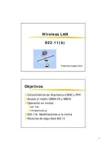 Wireless LAN (b)