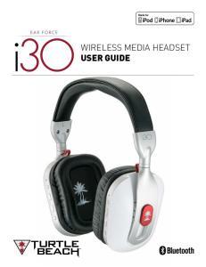 Wireless Media Headset User Guide