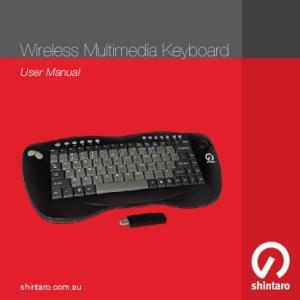 Wireless Multimedia Keyboard
