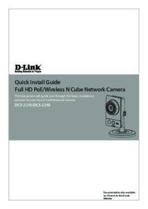 Wireless N Cube Network Camera