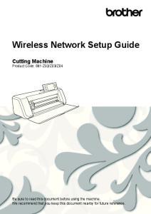 Wireless Network Setup Guide