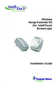 Wireless Range Extender Kit (for IntelliTouch ScreenLogic