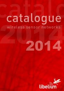wireless sensor networks catalogue