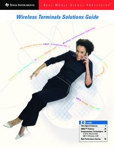 Wireless Terminals Solutions Guide