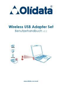 Wireless USB Adapter Set