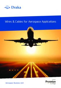 Wires & Cables for Aerospace Applications