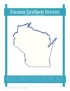 Wisconsin Enrollment Directory