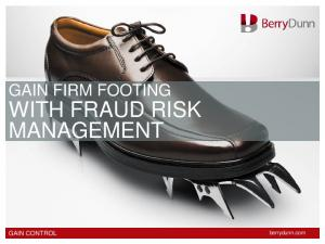 WITH FRAUD RISK MANAGEMENT