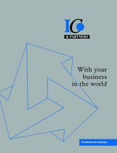 With your business in the world