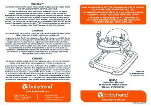 WK37A Instruction Manual Manual de Instrucciones Manuel d instruction