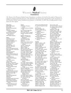 WMJ 2003 Volume 102, No. 1 51