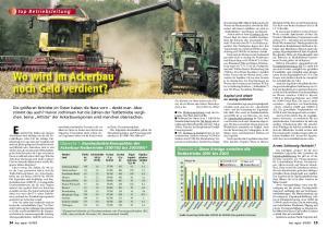 Wo wird im Ackerbau noch Geld verdient?