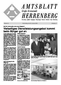 Woche 05 Donnerstag, den 30. Januar 2003 Jahrgang 11