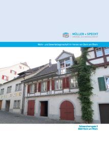 Wohn- und Gewerbeliegenschaft im Herzen von Stein am Rhein