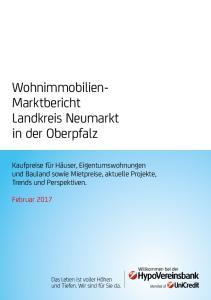 Wohnimmobilien- Marktbericht Landkreis Neumarkt in der Oberpfalz